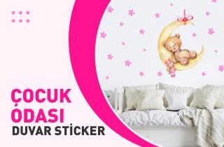 Çocuk Odası Duvar Sticker